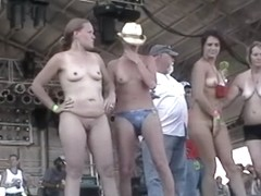 neverbeforeseen Abate Of Iowa Biker Rally Strip Contest July 1 2011 - SouthBeachCoeds