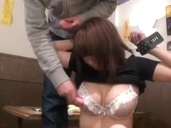 Crazy Japanese whore Ayano Umemiya in Exotic Casting JAV clip
