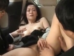 Hottest Japanese girl in Fabulous Blowjob, Handjobs JAV clip