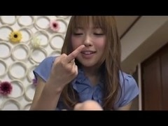 Ayumu Sena Self Foot Worship and Footjob