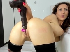 HD nastolatek dildo porno