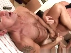 Straight masseur gets deep inside porno actor