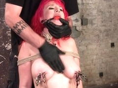 Proxy Paige & The Pope in Voluptuous Sex Kitten In Brutal Bondage And Ass Fucked - HogTied