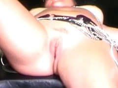 Babe spanked and fucked