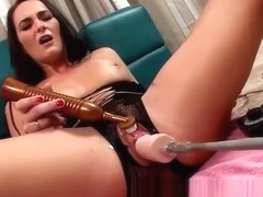 Bianca Breeze takes the sex machine