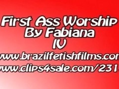 First Ass Worship By Fabiana