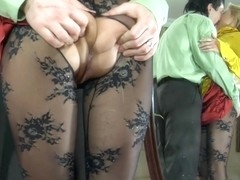 PantyhoseJobs Movie: Blanch and Rolf