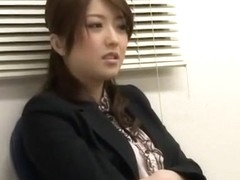 Exotic Japanese girl Ai Haneda in Amazing Office, Close-up JAV clip