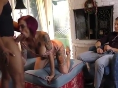 Huge cock sex video featuring Anna Belle, Anna Bell and Anna Bell Peaks