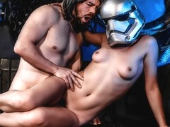 Star Wars: The Last Temptation A DP XXX Parody Scene 4 - DigitalPlayground