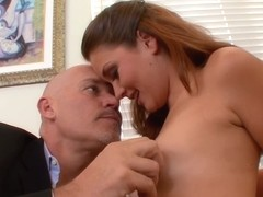 She Gets Seduced And Fucked At The Office