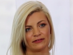 Girl next door Alex Little fucked by casting agent