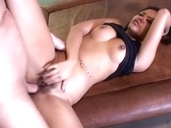 Annie Cruz gets ass pounded by pounding man