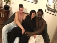 ITALIAN BBW MILF FUCKED BY TWO MEN