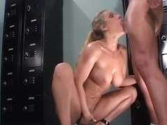 Fabulous pornstar Alexandra Quinn in amazing facial, deep throat sex scene