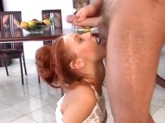 Wife gets kinky with her husband