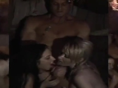 Threesome porn video featuring Ashli Orion, Missy Woods and Kristina Rose