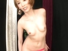 Aya Kisaki Alluring hot Asian milf gets cumshot