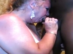 slutty milf bbw from DesireBBWs.com facefuck and cum facial