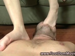 Domina fucks roughly with feet