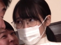 Masked housewife blackmailed into creampie group sex - jav [KIMU-006]