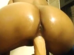 Pierced nipples indian riding dildo   squirting