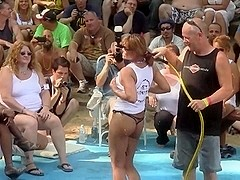 Amateur Wet T-Shirt Contest - Ponderosa 2011
