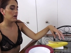 Brooke Haze in Sucking Stepbros Banana