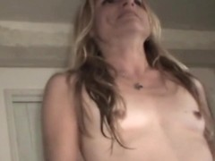 Ugly woman having sex on camera