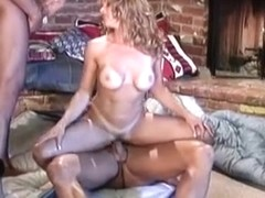 Best pornstars Jill Kelly, Ava Vincent and Shayla Laveaux in hottest straight xxx scene