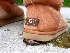 Snail Crush in Ugg boots