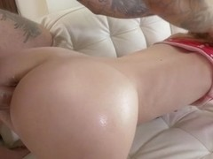 Kennedy Kressler & Bryan Gozzling in Squirting Redhead Kennedy Manhandled - EvilAngel