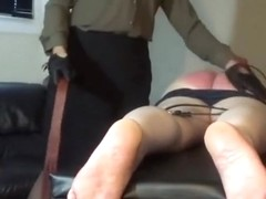 24 strokes of the tawse by Miss Sultrybelle