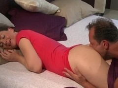 MOM husband and wife make love in the morning