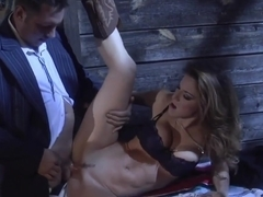 Lovely Kayla Paige Gets Fucked in Her Tight Pussy