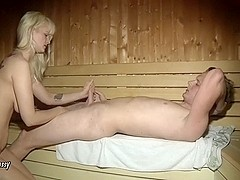 Vernascht youth in the sauna - M!a