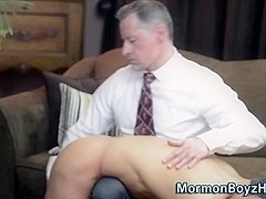 Mormon elder gets tugged