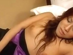 Sexy Asian Babes Take Turns Chewing On A Black Cock In A Th