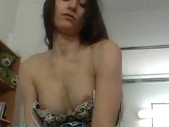 Sexy czech nymph does sensual lapdance