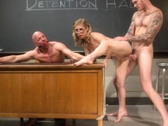Penny Pax & Christian Wilde & Chad Rock in Bratty Princess Penny Cuckolds Her Teacher In Front Of .