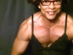 Fbb webcam most muscular amazing pecs