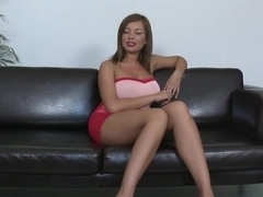 Long legs and big tits. Donna Bell