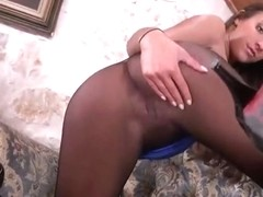 Pantyhose pussy compilation 1