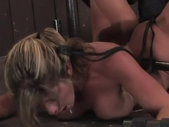 Felony Big titted MILF helpless and squirting.