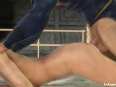 Harley's juicy pussy coves Superman