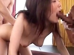 Exotic Japanese slut Nachi Sakaki in Horny Blowjob, Anal JAV video