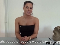 European hottie Athina Love screwed up in exchange for cash