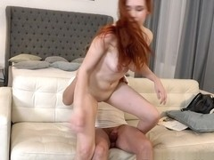 Ginger Chick Fucks For Job - Beauty4K