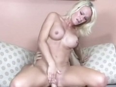 Blonde Tyann Mason Gets Cum On Round Boobs - Upox