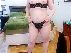 sub non-professional with hot thighs and arse getting anal training